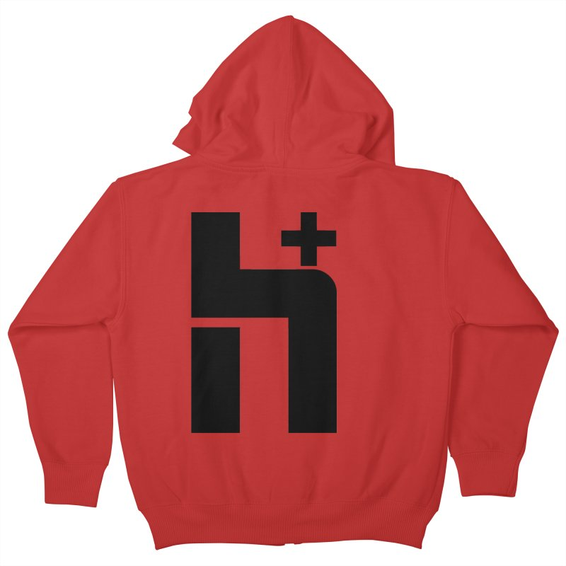 HPlus Kids Zip-Up Hoody by Transhuman Shop