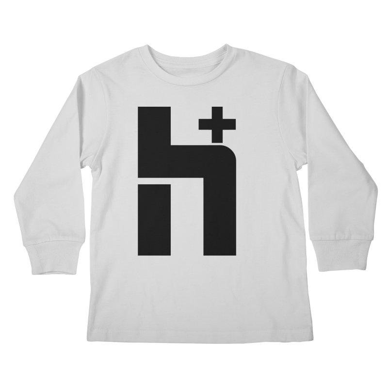 HPlus Kids Longsleeve T-Shirt by Transhuman Shop