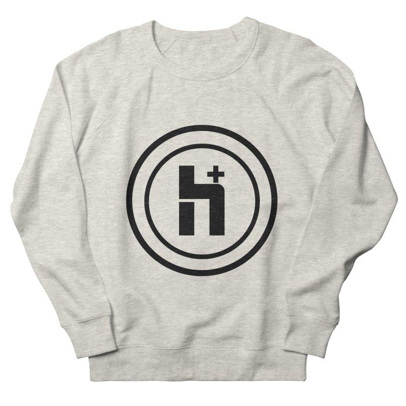 H Plus Circle 1 Women's Sweatshirt by Transhuman Shop