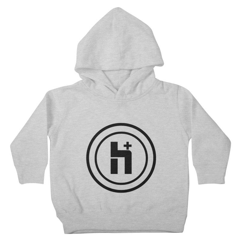 H Plus Circle 1 Kids Toddler Pullover Hoody by Transhuman Shop
