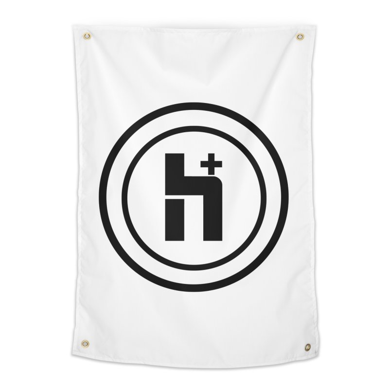 H Plus Circle 1 Home Tapestry by Transhuman Shop