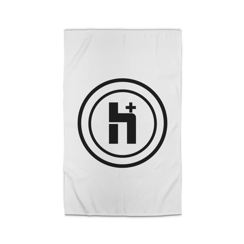 H Plus Circle 1 Home Rug by Transhuman Shop