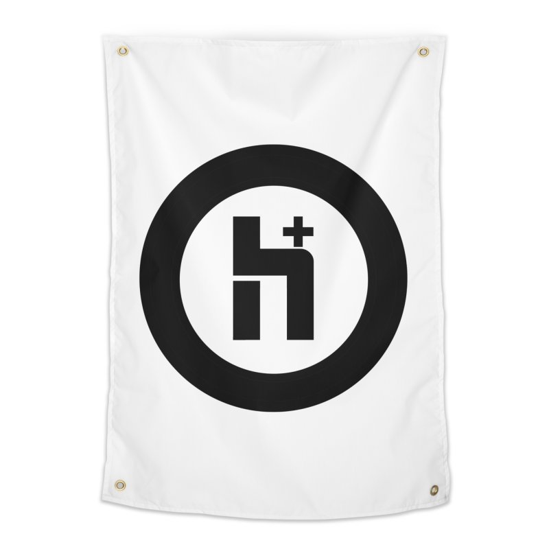 H Plus circle 2 Home Tapestry by Transhuman Shop