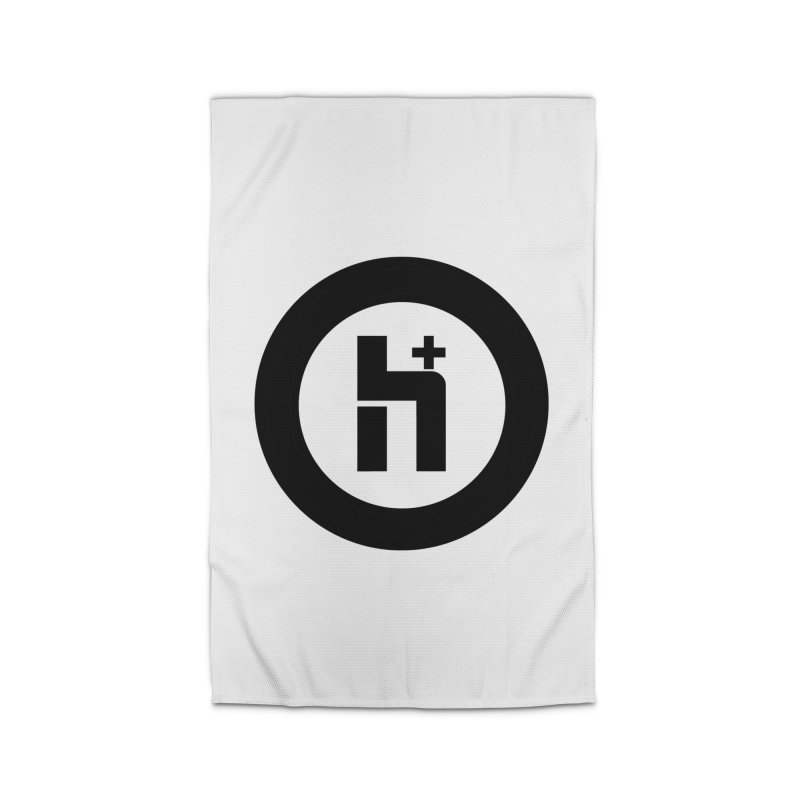 H Plus circle 2 Home Rug by Transhuman Shop