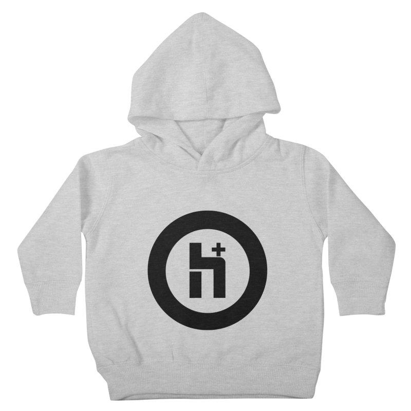 H Plus circle 2 Kids Toddler Pullover Hoody by Transhuman Shop