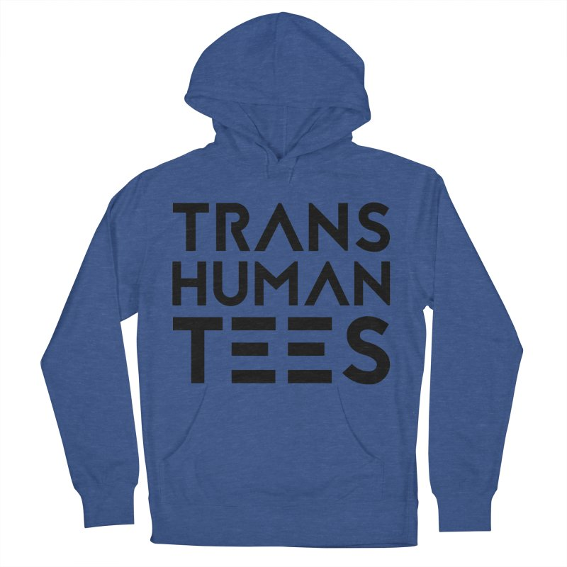 Transhuman Tees Logo Men's Pullover Hoody by Transhuman Shop