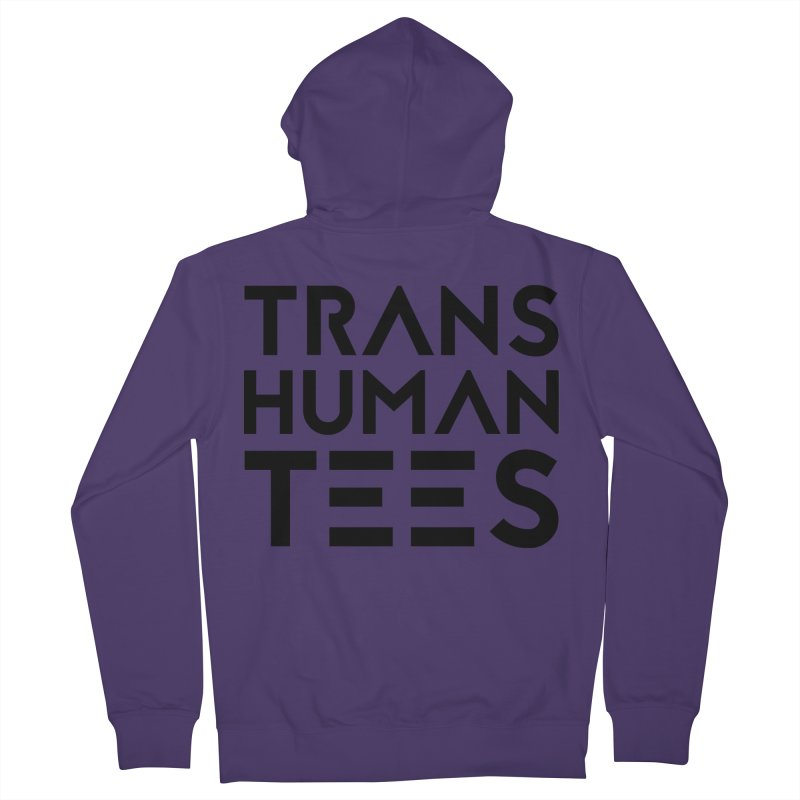 Transhuman Tees Logo Women's Zip-Up Hoody by Transhuman Shop