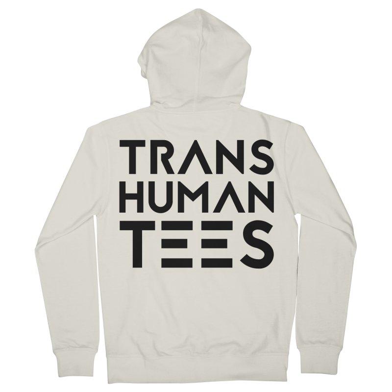 Transhuman Tees Logo Men's Zip-Up Hoody by Transhuman Shop