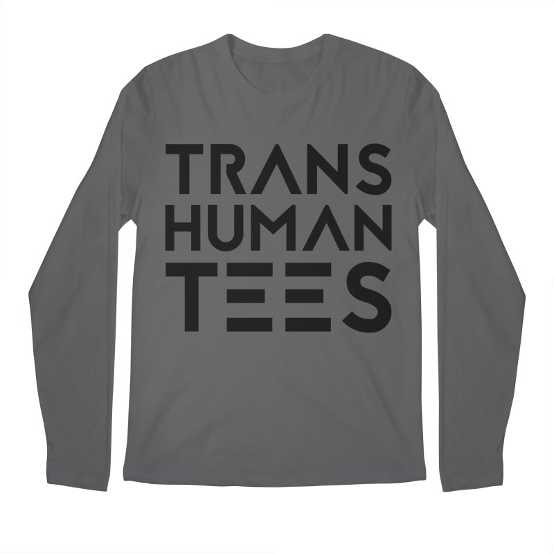 Transhuman Tees Logo Men's Longsleeve T-Shirt by Transhuman Shop