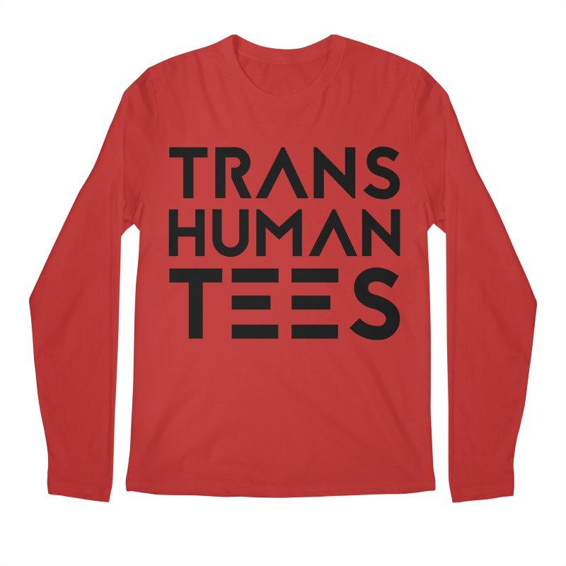 Transhuman Tees Logo Men's Longsleeve T-Shirt by Transhuman Shop