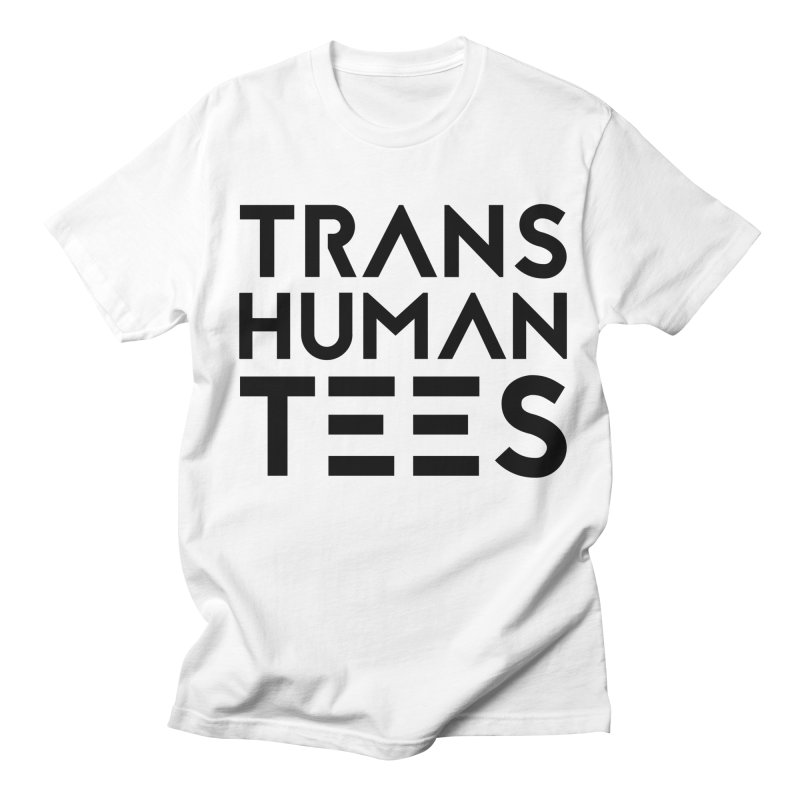 Transhuman Tees Logo Men's T-Shirt by Transhuman Shop