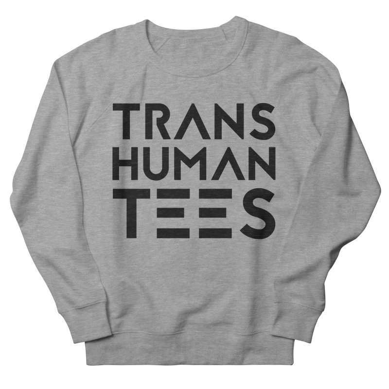 Transhuman Tees Logo Men's Sweatshirt by Transhuman Shop