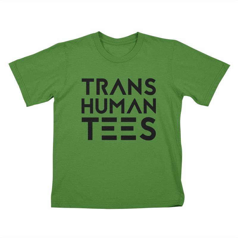 Transhuman Tees Logo Kids T-Shirt by Transhuman Shop