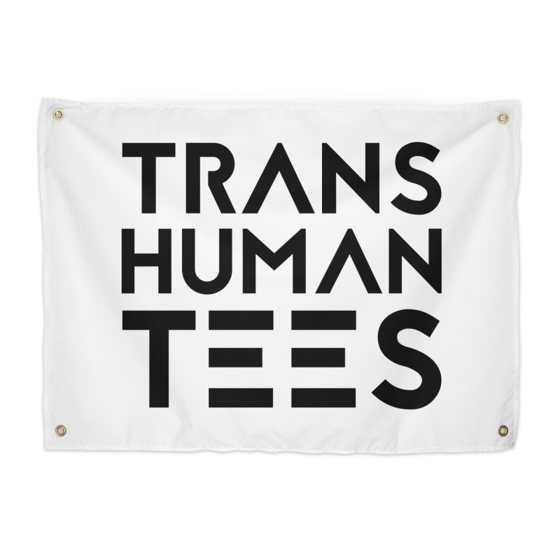 Transhuman Tees Logo Home Tapestry by Transhuman Shop