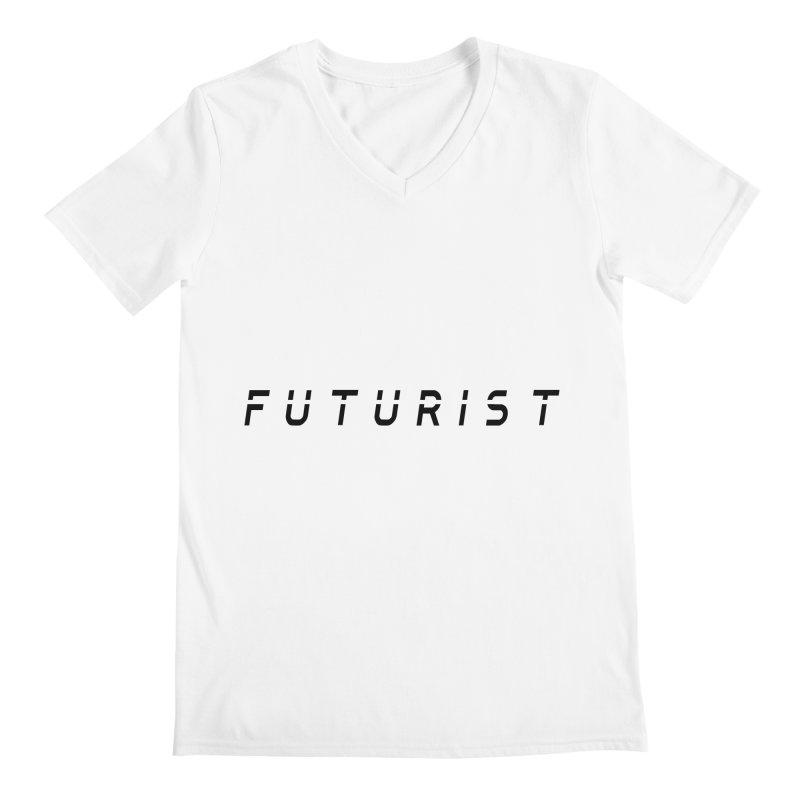 Futurist Men's V-Neck by Transhuman Shop