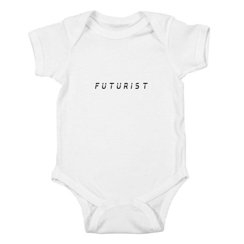 Futurist Kids Baby Bodysuit by Transhuman Shop