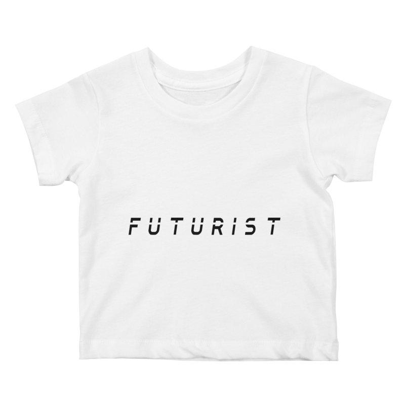 Futurist Kids Baby T-Shirt by Transhuman Shop