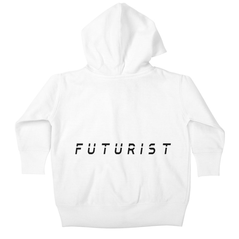 Futurist Kids Baby Zip-Up Hoody by Transhuman Shop