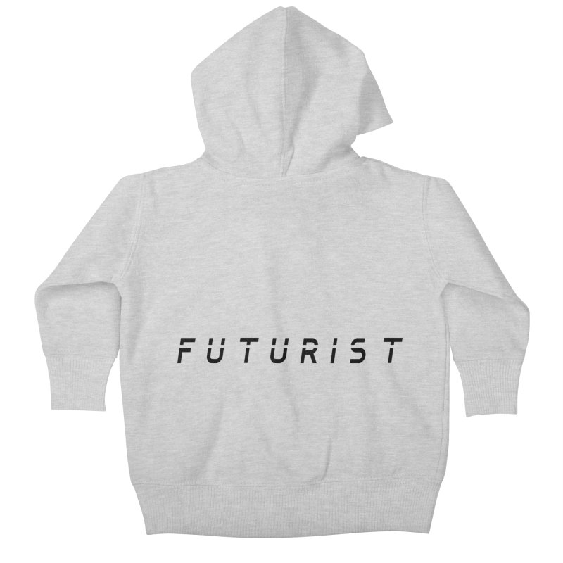 Futurist Kids Baby Zip-Up Hoody by Transhuman Shop