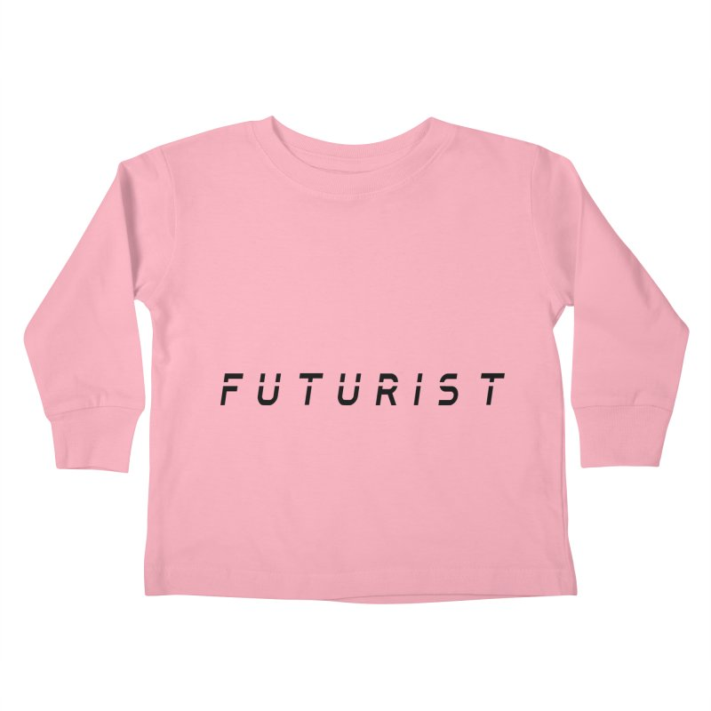 Futurist Kids Toddler Longsleeve T-Shirt by Transhuman Shop