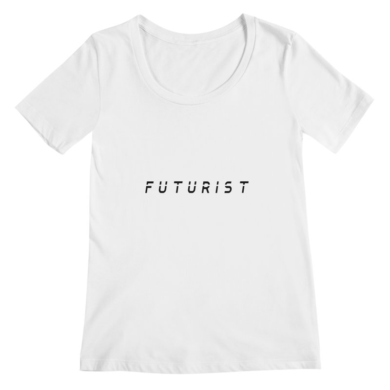 Futurist Women's Scoopneck by Transhuman Shop