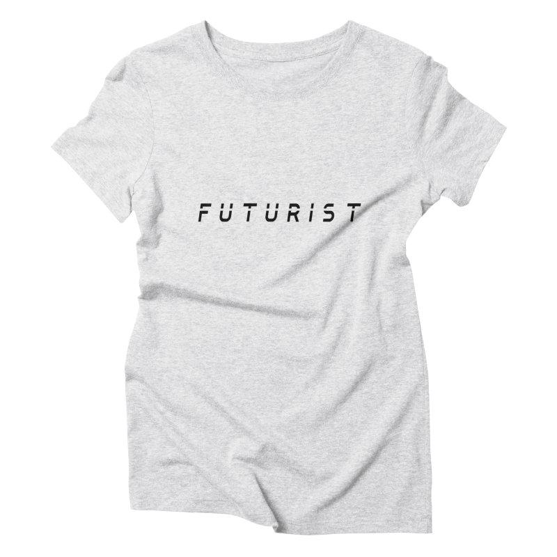 Futurist Women's Triblend T-Shirt by Transhuman Shop