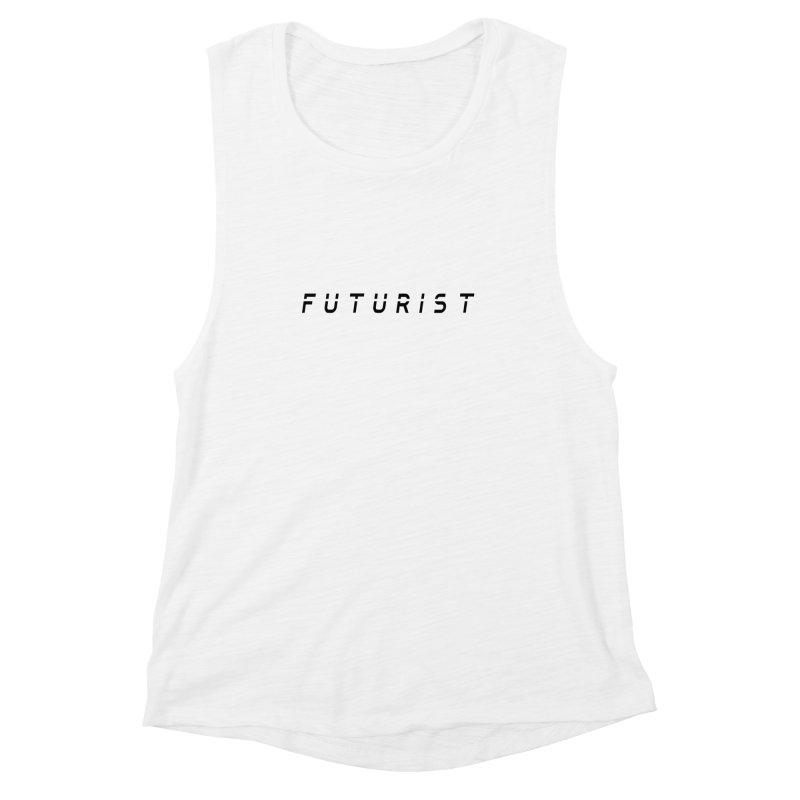 Futurist Women's Muscle Tank by Transhuman Shop