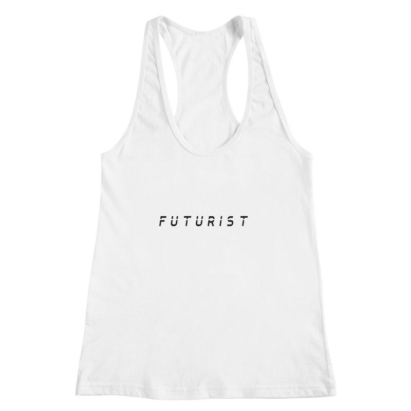 Futurist Women's Racerback Tank by Transhuman Shop