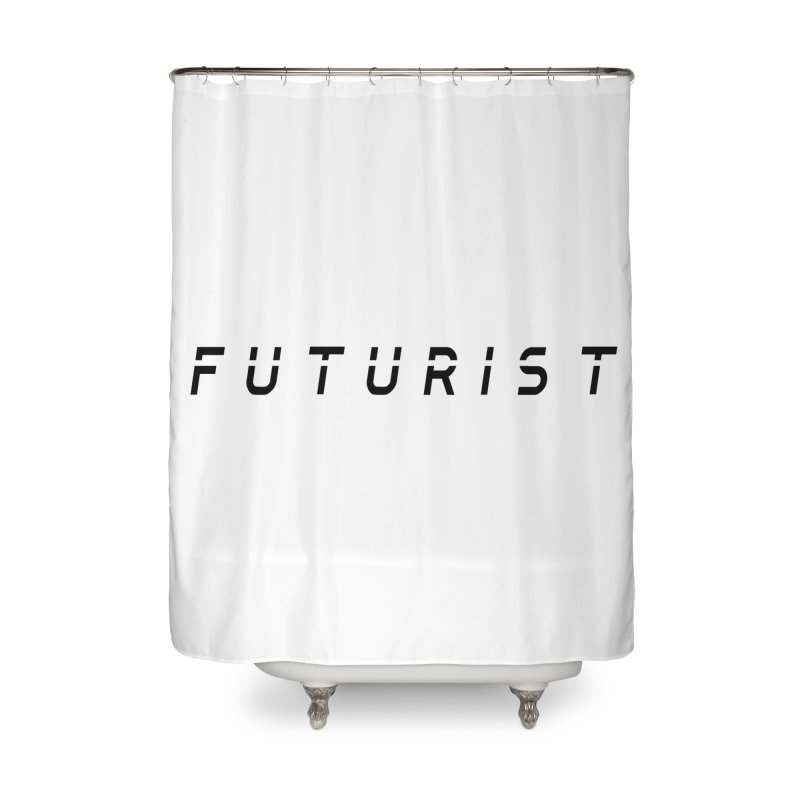 Futurist Home Shower Curtain by Transhuman Shop