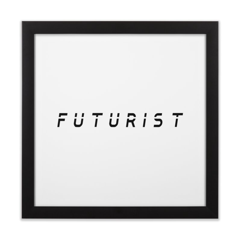 Futurist Home Framed Fine Art Print by Transhuman Shop