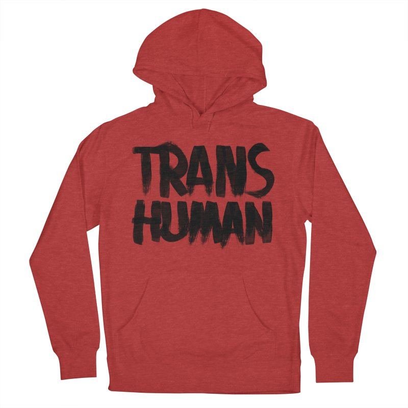 Transhuman Men's Pullover Hoody by Transhuman Shop
