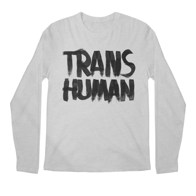 Transhuman Men's Longsleeve T-Shirt by Transhuman Shop