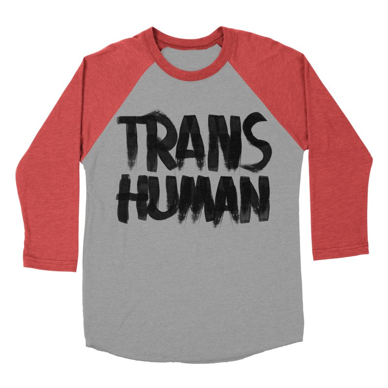 Transhuman Women's Baseball Triblend T-Shirt by Transhuman Shop