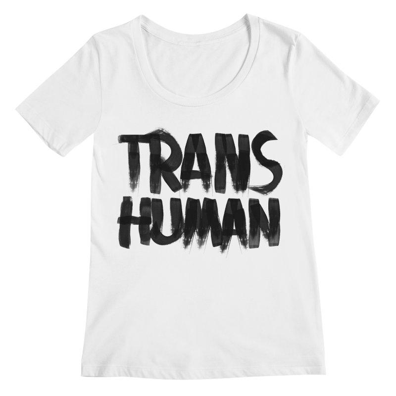 Transhuman Women's Scoopneck by Transhuman Shop