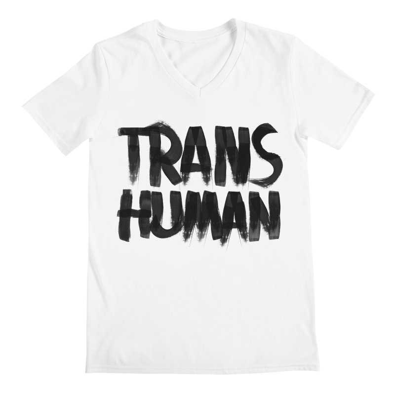 Transhuman Men's V-Neck by Transhuman Shop