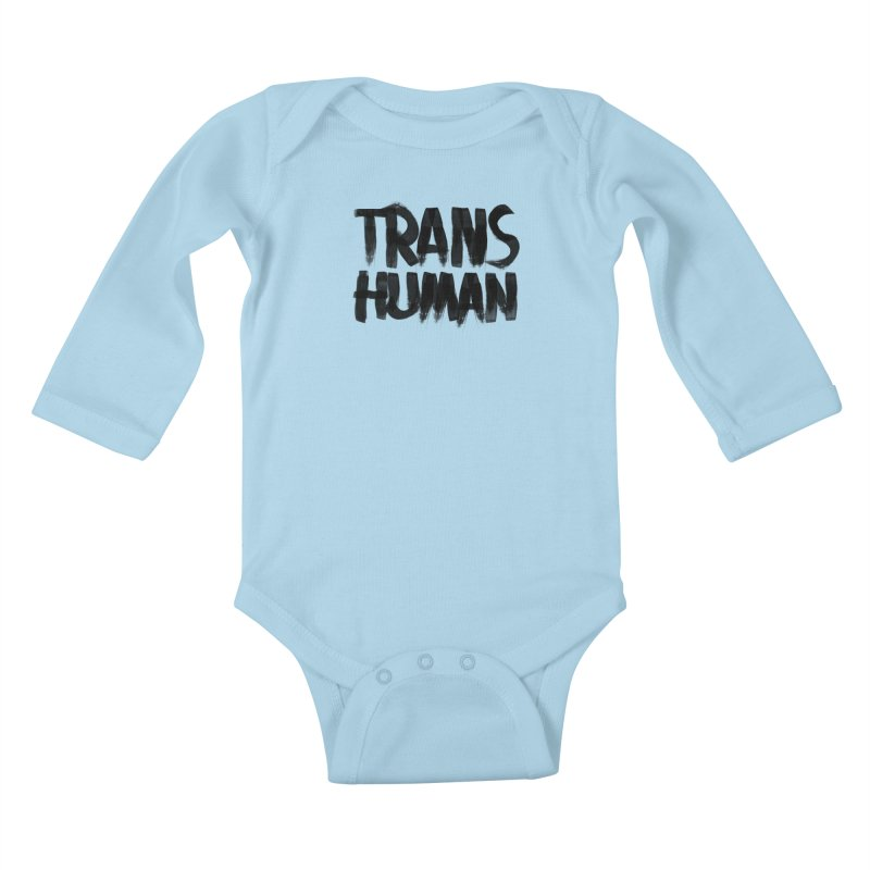 Transhuman Kids Baby Longsleeve Bodysuit by Transhuman Shop