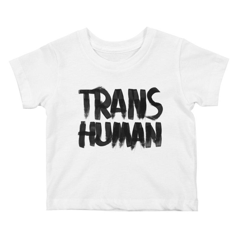 Transhuman Kids Baby T-Shirt by Transhuman Shop