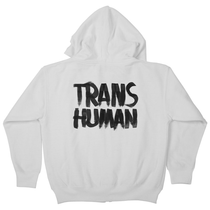 Transhuman Kids Zip-Up Hoody by Transhuman Shop