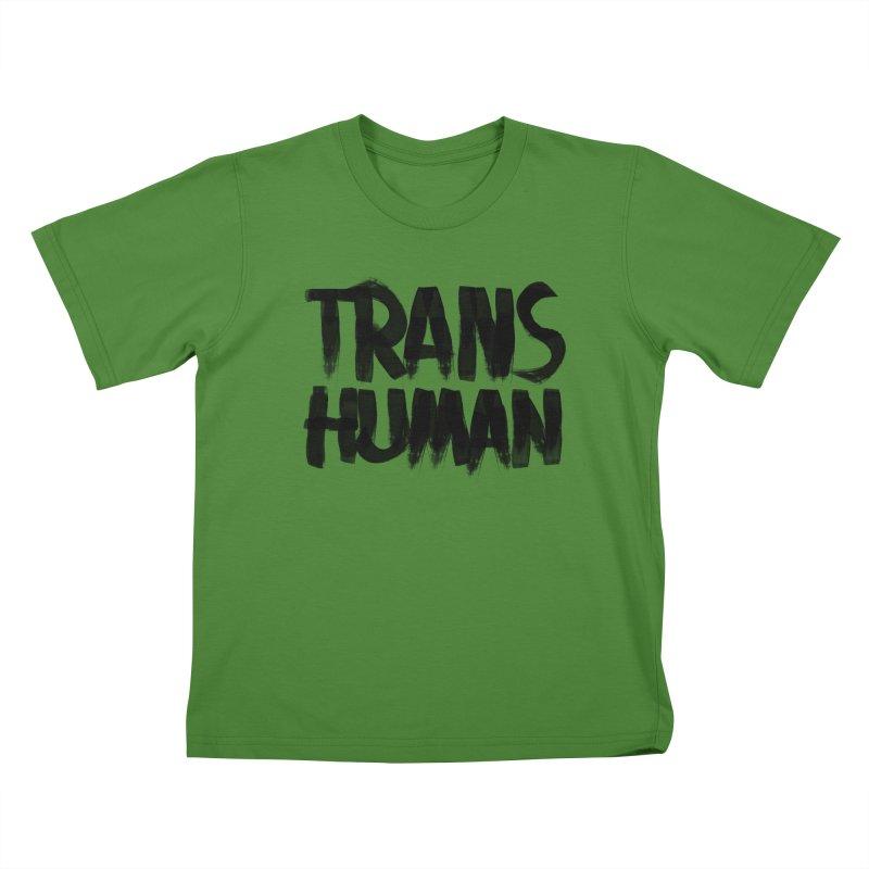 Transhuman Kids T-shirt by Transhuman Shop