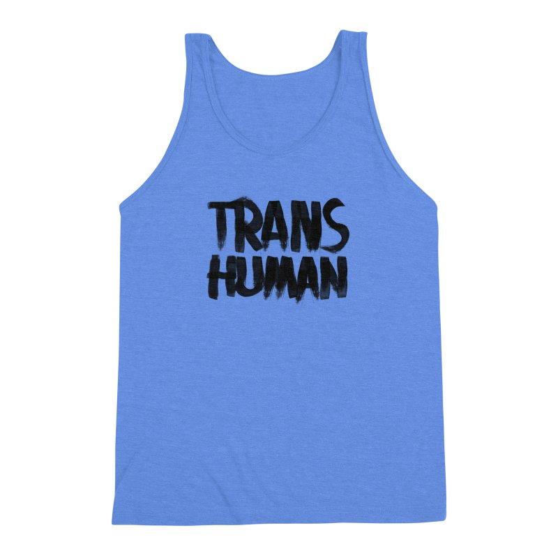 Transhuman Men's Triblend Tank by Transhuman Shop