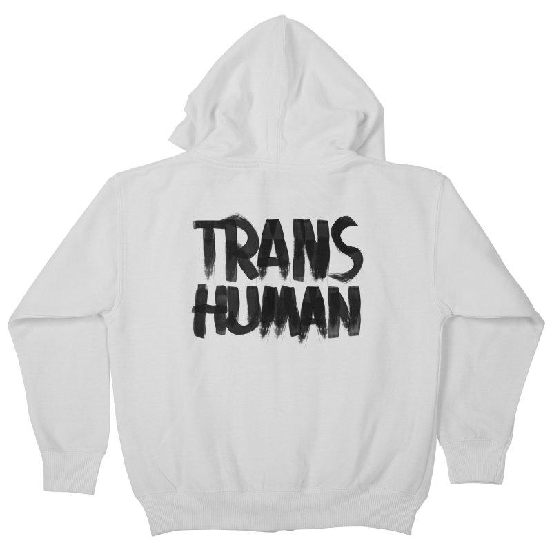 Transhuman Kids Zip-Up Hoody by Transhuman Shop