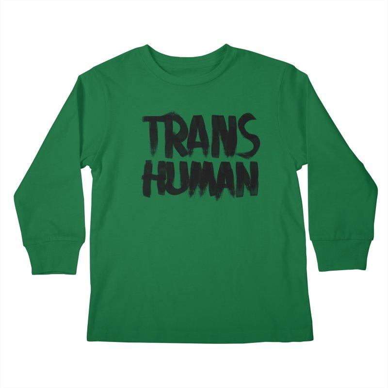 Transhuman Kids Longsleeve T-Shirt by Transhuman Shop