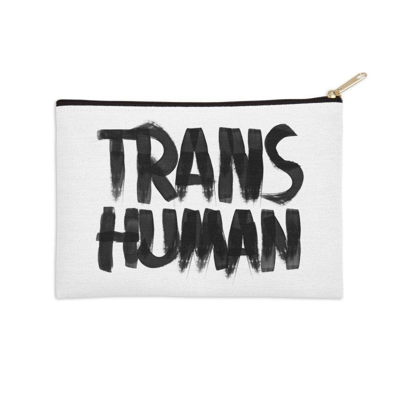 Transhuman Accessories Zip Pouch by Transhuman Shop