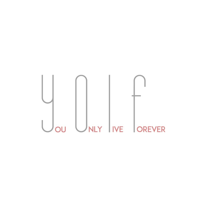 YOLF - You Only Live Forever Women's Baseball Triblend T-Shirt by Transhuman Shop