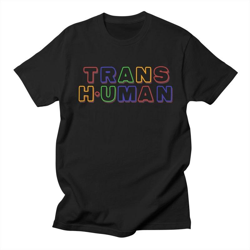 Transhuman 2 - Multi Colored Men's T-Shirt by Transhuman Shop
