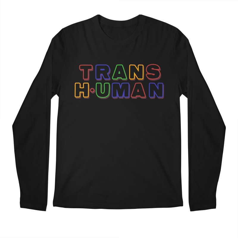 Transhuman 2 - Multi Colored Men's Longsleeve T-Shirt by Transhuman Shop