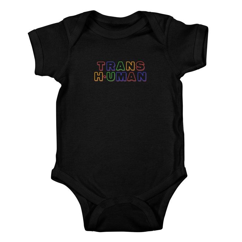 Transhuman 2 - Multi Colored Kids Baby Bodysuit by Transhuman Shop
