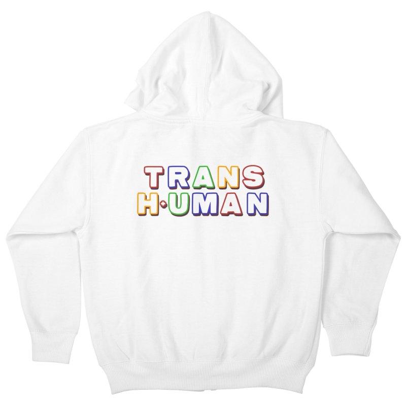 Transhuman 2 - Multi Colored Kids Zip-Up Hoody by Transhuman Shop