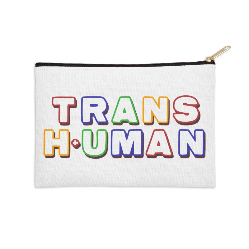 Transhuman 2 - Multi Colored Accessories Zip Pouch by Transhuman Shop