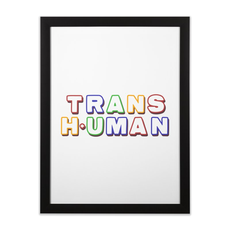 Transhuman 2 - Multi Colored Home Framed Fine Art Print by Transhuman Shop